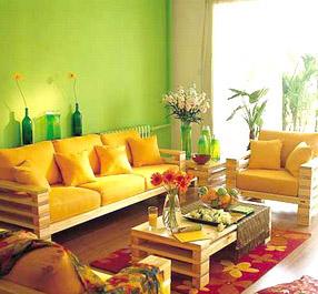 生活,用绿意装点居室春色